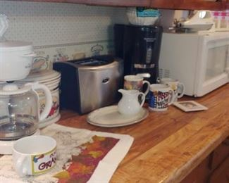 Coffee pots stainless steel toaster microwave and more