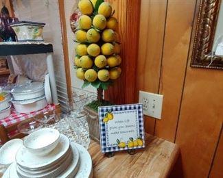 Beautiful decorator lemon tree