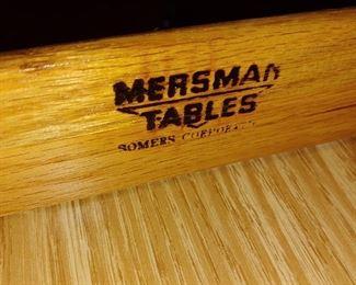 Mersman table