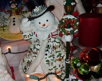 Christmas is over but this is a fabulous selection of Christmas decorations staging by Bobbie Taylor