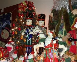 Santa Claus nutcrackers and more