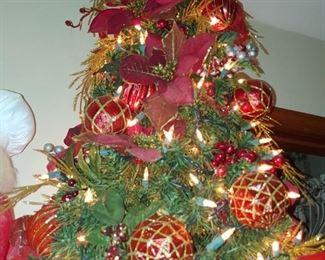 Beautiful miniature Christmas tree