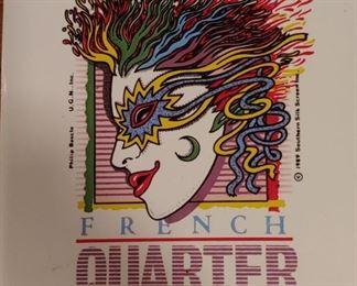 Vintage trivet New Orleans French Quarter