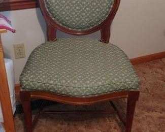 Beautiful classy upholstered chair