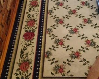 Beautiful floral area rug