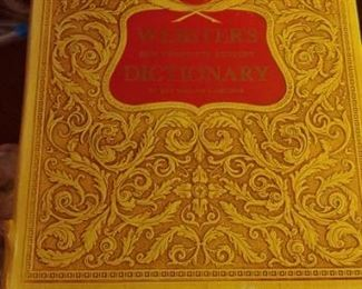 Beautiful vintage dictionary