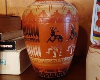 Beautiful signed pottery