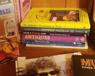 Antique reference books