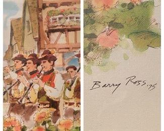 Barry Ross Print 1975