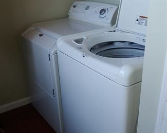 New washing machine and dryer