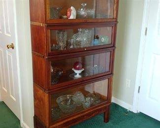 Wonderful mahogany Barrister bookcase