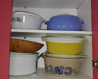 CorningWare Pyrex and Hall China
