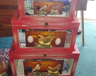 5 days decorative chicken boxes