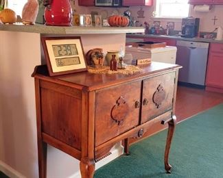 Queen Anne paw foot sideboard