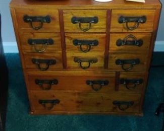 Antique doctor Medicine Chest