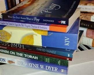 Huge collection of religious books Joyce Meyer TD Jakes and more
