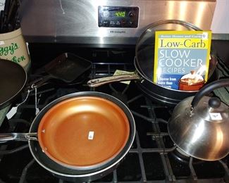Cast iron and other cookware
