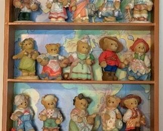 Cherished Teddies, we literally have boxes full!