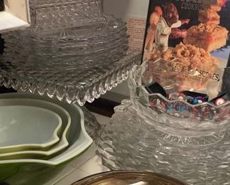 Fostria American pattern elegant glass