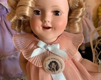 Another Madame Alexander ShirleyTemple doll.
