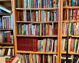 Book and book cases