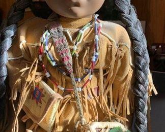 Native American doll by Navajo (Dine) artist Lou Ann Paul