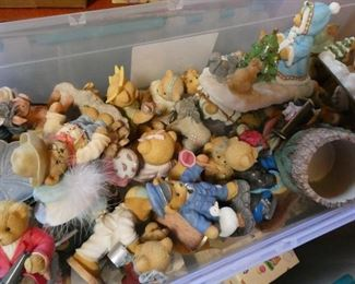 Hundreds of Cherished Teddies - most like new in the box