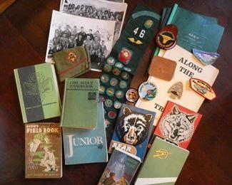 Boy Scout items