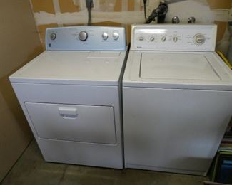 Kenmore Series 500 electric dryer and Kenmore Series 90 Washer