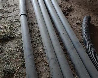 "3"" black irrigation pipe"