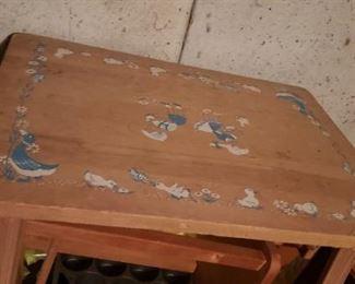 Vintage child's table