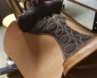 Saddle that needs some final touches