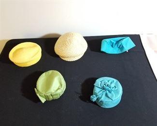 Assortment of Vintage Ladies Hat