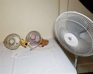 Assortment of Fans