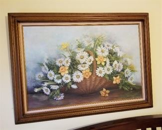 Floral Painting by Joyce Vinson