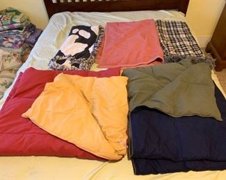 Assortment of Throws