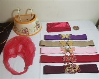 Hanging Vanity Light/Vintage Belts