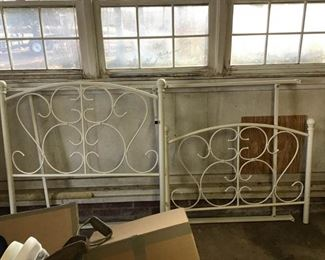 Iron Twin Size Bed