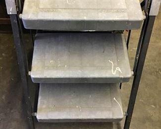 Vintage Cosco Step Deck Ladder