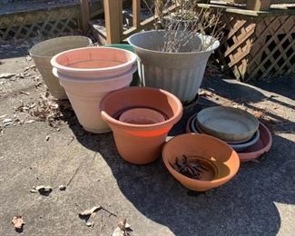Assortment of Pots