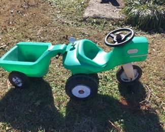 Little Tikes Tractor and Wagon