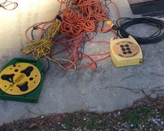 Extension Cords and Power Mate Cord Reels