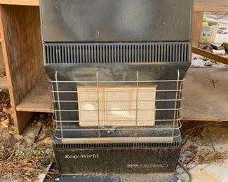 Gas Three Burner Heater