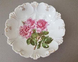 Antique Rose Bowl