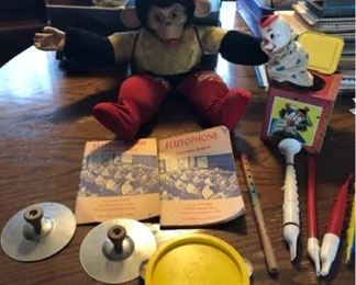 Vintage Toys and Musical Instruments