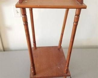 Small Wood Accent Table