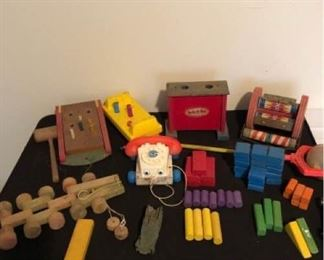 Vintage Toys and Blocks