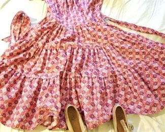 Clogging Dress adn Stevens Stomper Shoes