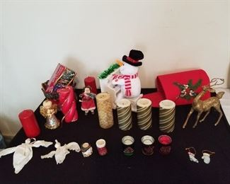 Assortment of Christmas Decor