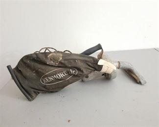 Vintage Hand Held Kenmore Jr. Vacuum